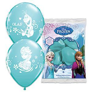 Läs mer om Frost ballonger, set med 6