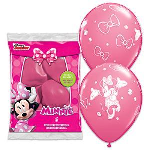 Läs mer om Mimmi Pigg ballonger, 6-pack