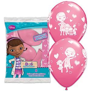 Läs mer om Doktor McStuffins ballonger, set med 6