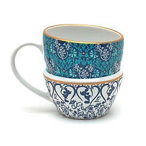 Läs mer om Staplad mugg Disneyland Paris Azul Collection