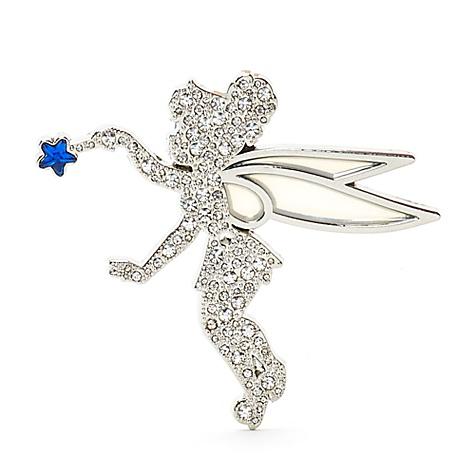 Pin's bijou Fée Clochette 25eanniversaire de Disneyland Paris