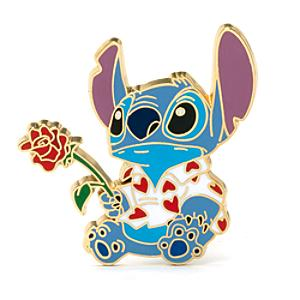Läs mer om Stitch and Rose Collectible Pin