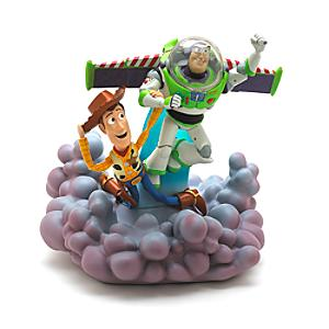 Buzz and Woody Deluxe LightUp Figurine Toy Story