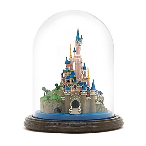 Figurine du château de La Belle au Bois Dormant 25eanniversaire de Disneyland Paris