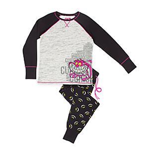 Läs mer om Cheshirekatten pyjamas i damstorlek
