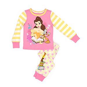 Läs mer om Belle pyjamas för barn, Skönheten och Odjuret
