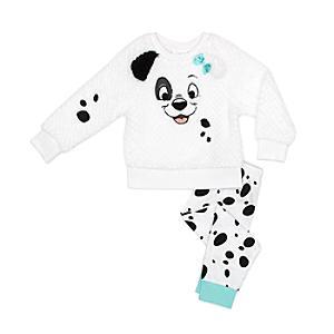 Läs mer om De 101 dalmatinerna pyjamas för barn