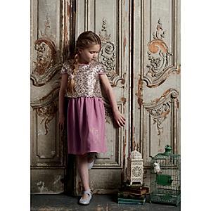 Läs mer om Rapunzel festklänning för barn