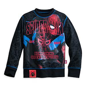 Läs mer om Spider-Man långärmad topp för barn