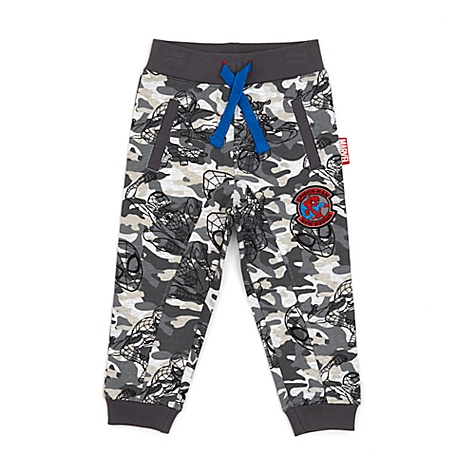 Pantalon de survêtement style camouflage Spider-Man pour enfants