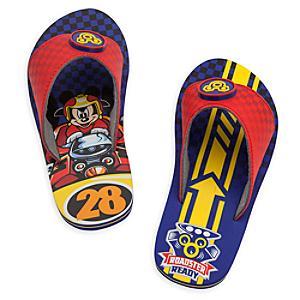 Läs mer om Musse och Racergänget flip-flops för barn