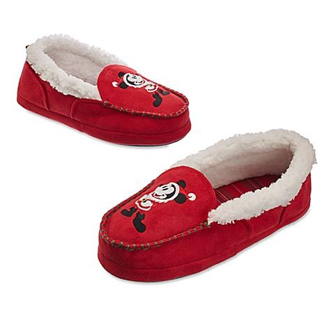 Chaussons de Noël Mickey pour hommes - M