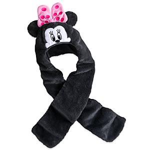 Läs mer om Mimmi Pigg hatt och halsduk i ett för barn