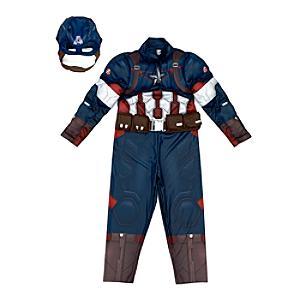 Läs mer om Marvel Avengers Captain America maskeraddräkt