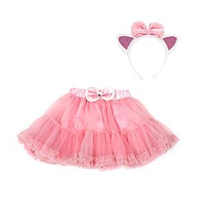 Läs mer om Marie ballerinakjol för barn med tillbehör, Aristocats