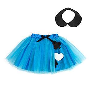 Läs mer om Alice i Underlandet ballerinakjol med accessoarer för barn