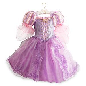 Läs mer om Rapunzel maskeradklänning deluxe