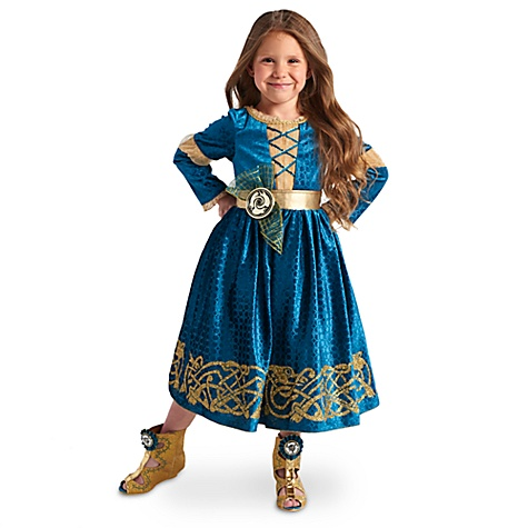 Déguisement pour enfants Merida, Rebelle - 3 ans