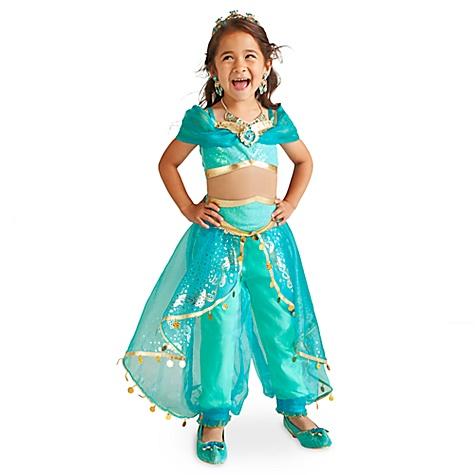 Déguisement pour enfants Princesse Jasmine, Aladin - 7-8 ans