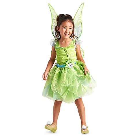 Déguisement phosphorescent pour enfants Fée Clochette - 9-10 ans