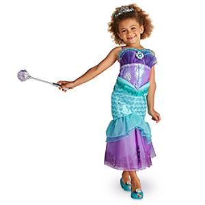 Läs mer om Ariel maskeraddräkt för barn, Den lilla sjöjungfrun