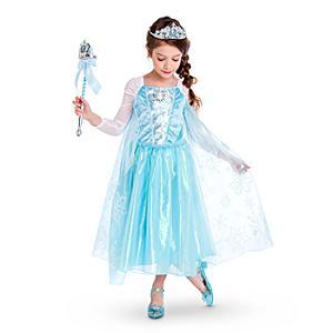 Läs mer om Elsa Frost sjungande maskeradklänning