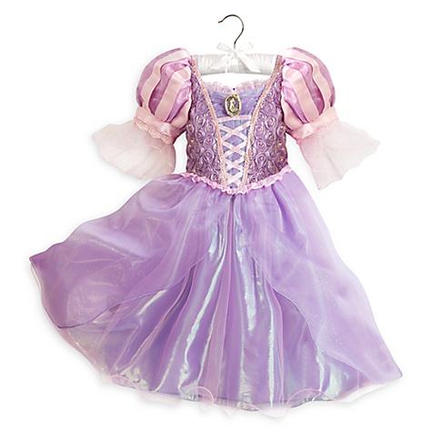 Robe Raiponce pour enfants - 9-10 ans