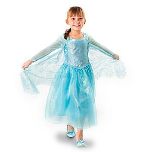 Läs mer om Elsa maskeradklänning, Frost