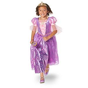 Rapunzel maskeradklänning