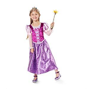 Läs mer om Rapunzel-maskeradklänning för barn, Trassel