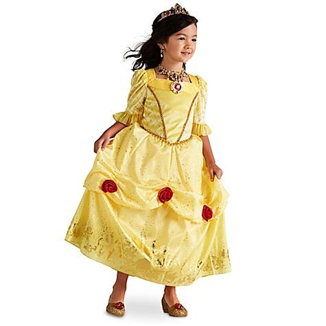 Déguisement pour enfants Belle, La Belle et la Bête - 9-10 ans