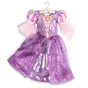 Läs mer om Rapunzel maskeradklänning för barn, Trassel