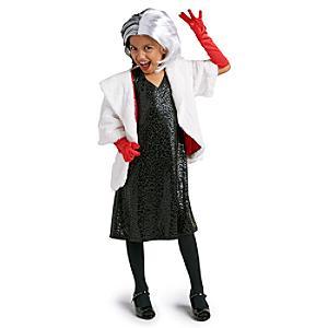 Läs mer om Cruella de Vil, maskeraddräkt för barn