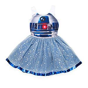 Läs mer om R2-D2, ballerinakjol, maskeraddräkt för barn