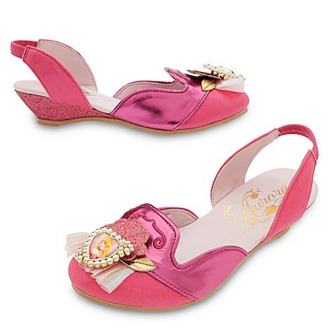 Chaussures de déguisement La Belle au Bois Dormant pour enfants - 29-31