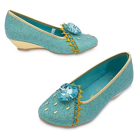 Chaussures de déguisement Princesse Jasmine pour enfants - 24-25