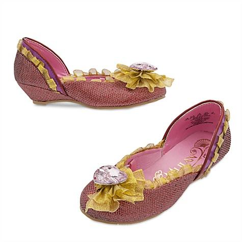 Chaussures de déguisement Mulan pour enfants - 24-25