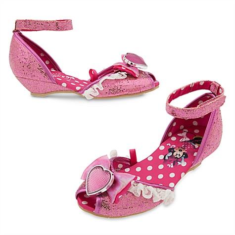 Chaussures de déguisement Minnie Mouse pour enfants - 24-25