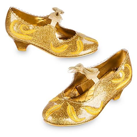 Chaussures pour costume de Belle pour enfants, La Belle et la Bête - 27-28