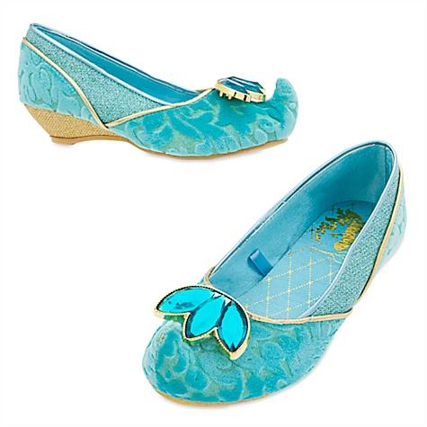 Chaussures de déguisement pour enfant princesse Jasmine, Aladdin