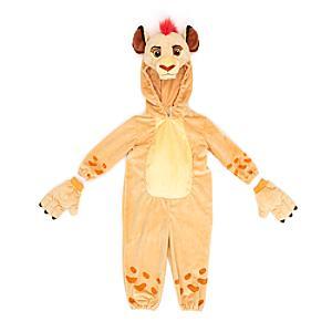 Läs mer om Kion-kostym i plysch för barn, Lejonvakten