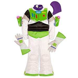 Läs mer om Buzz Lightyear upplyst maskeraddräkt