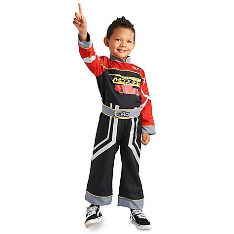 Déguisement réversible Flash McQueen, Disney Pixar Cars3, pour enfants - 5-6 ans