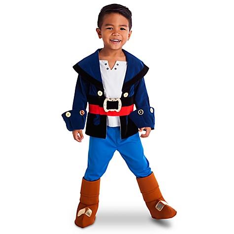 Déguisement pour enfants Jake de Jake et les Pirates du Pays Imaginaire - 4 ans