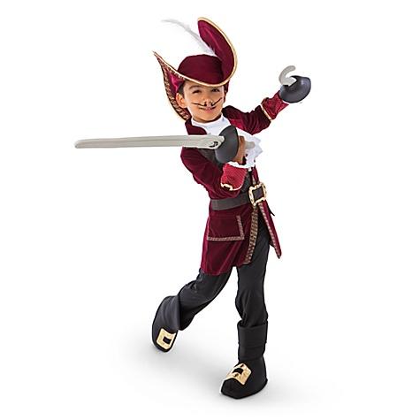 Déguisement Capitaine Crochet de Jake et les Pirates du Pays Imaginaire pour enfants - 5-6 ans