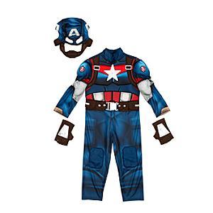 Läs mer om Captain America, maskeraddräkt för barn