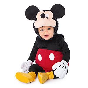 Mickey Mouse babykostume i plys