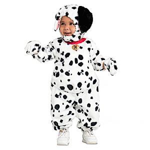 Läs mer om De 101 dalmatinerna maskeraddräkt för baby