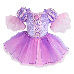 Läs mer om Rapunzel-sparkdräkt i babystorlek