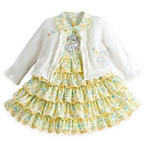 Läs mer om Stampe babyutstyrsel med finklänning och kofta